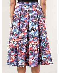 Saloni - Blue 'Bettina' Skirt - Lyst