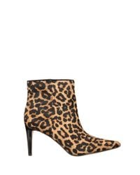 Sam Edelman | Multicolor Karen Calf-hair Ankle Bootie | Lyst