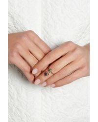 Daniela Villegas - Green Khepri 18karat Rose Gold Tsavorite and Opal Ring - Lyst