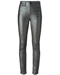 Isabel Marant - Metallic Glitter Trousers - Lyst