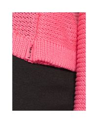 Ralph Lauren | Pink Cotton Cropped Sweater | Lyst