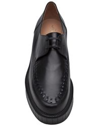 Robert Clergerie - Black Paulin Lace Up Shoe - Lyst