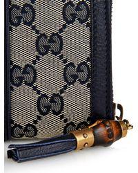 Gucci - Blue Rania Original Gg Wallet - Lyst