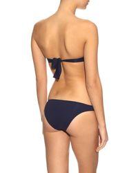 Melissa Odabash - Blue Martinique Bandeau Bikini - Lyst