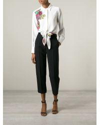 Marco Bologna | White Flower Print Tie Shirt | Lyst