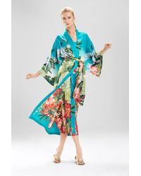 Natori | Multicolor Birds Of Paradise Robe | Lyst