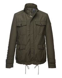 BOSS Orange | Green Short Parka 'orgent1-w' In Cotton Blend for Men | Lyst