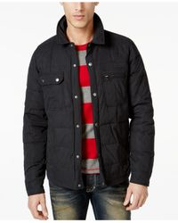 Volcom - Black Swaun Quilted Jacket for Men - Lyst