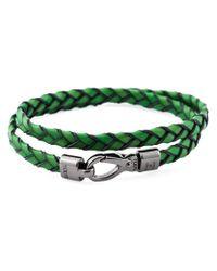 Tod's - Green 'My Colours' Bracelet - Lyst