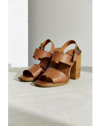 Urban Outfitters - Brown Clean Strap Heel - Lyst