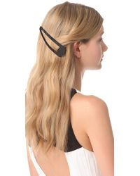 Adia Kibur - Jumbo Hair Clips Black - Lyst