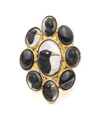 Alexis Bittar | Black Raven Portrait Cameo Cuff Bracelet You Might Also Like | Lyst