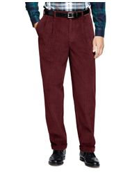 Brooks Brothers | Purple Elliot Fit 8-wale Corduroys for Men | Lyst