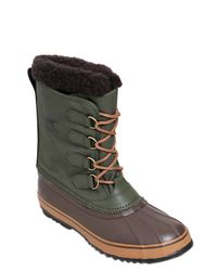 Sorel | Brown 1964 Pac Waterproof Nylon Winter Boots | Lyst
