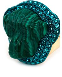 Vivienne Westwood - Green 'Fay' Ring - Lyst
