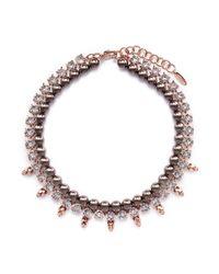 Joomi Lim | Multicolor Skull Crystal Pearl Necklace | Lyst