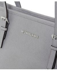 MICHAEL Michael Kors | Gray Jet Set Top-zip Large Travel Tote Bag | Lyst