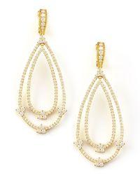 Judith Ripka - Yellow Gothic Estate Earrings - Lyst