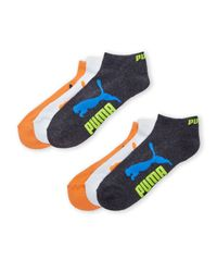 PUMA | Multicolor 6-Pack Low Cut Logo Ankle Socks for Men | Lyst