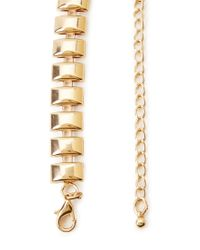 Forever 21 | Metallic Faux Gem Statement Necklace | Lyst