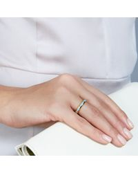 Astley Clarke - Metallic Duck Egg Faceted Ring - Lyst