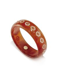 Mark Davis - Multicolor Set Of 2 Spessartite Garnet And Yellow Sapphire Bakelite Bangles - Lyst