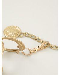 Dolce & Gabbana | Metallic Roman Coin Bracelet | Lyst