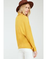 Forever 21 - Yellow Shawl Collar Dolman Cardigan You've Been Added To The Waitlist - Lyst