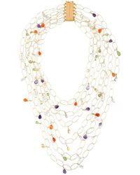 Rosantica - Metallic 'jaipur' Necklace - Lyst
