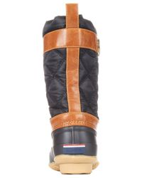 Tommy Hilfiger | Black Women's Arcadia Duck Boots | Lyst