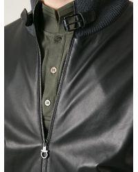 Ferragamo - Black Knitted Cardigan for Men - Lyst