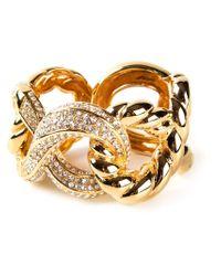 Giuseppe Zanotti | Metallic Embellished Bracelet | Lyst