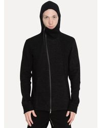 The Viridi-anne - Black Zip Hoodie for Men - Lyst