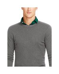 Polo Ralph Lauren - Gray Lightweight Cashmere Sweater for Men - Lyst