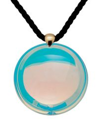Baccarat - Blue Small Eclipse Pendant Clear - Lyst