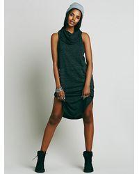 Free People | Black Fp Beach Womens Rialto Dress | Lyst
