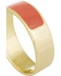 Inez & Vinoodh - Orange Enameled 18-karat Gold Ring - Lyst