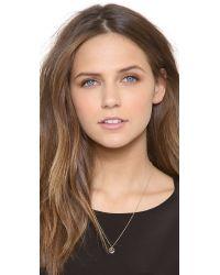 Samantha Wills - Metallic Astrology Necklace - Capricorn - Lyst