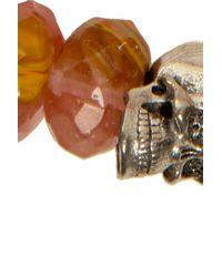 Duchess Of Malfi | Orange Peach Tourmaline Faceted Stone Bracelet | Lyst
