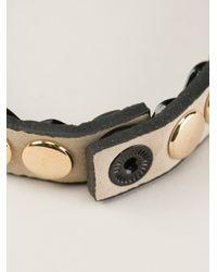 Marc By Marc Jacobs - Metallic Studded Bracelet - Lyst