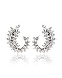DANNIJO | Metallic Arabella Earrings | Lyst