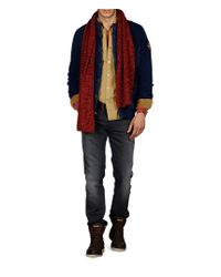 Napapijri | Blue Cardigan for Men | Lyst