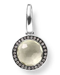 Ippolita | Metallic Sterling Silver Lollipop® Charm | Lyst