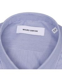 Mauro Grifoni | Blue Shirt for Men | Lyst