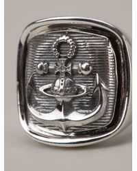 Vivienne Westwood | Metallic Aristotle Ring | Lyst