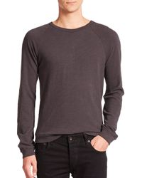 Rag & Bone | Gray Standard Issue K-long Sleeve Raglan Tee for Men | Lyst