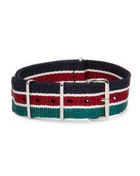Smart Turnout - Multicolor 18mm Striped Grosgrain Watch Strap for Men - Lyst