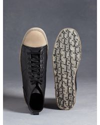 John Varvatos | Black Mick High Top Sneaker for Men | Lyst