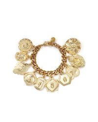 Lulu Frost | Metallic Victoria Plaza Number Charm Bracelet | Lyst