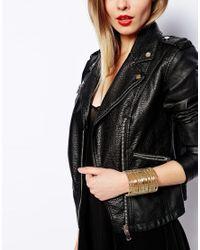 ASOS | Metallic Limited Edition Mesh Cage Cuff Bracelet | Lyst